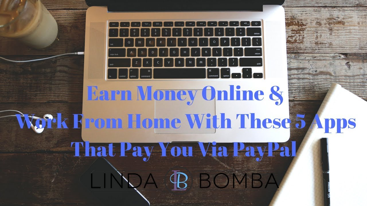Make money online get paid via paypal