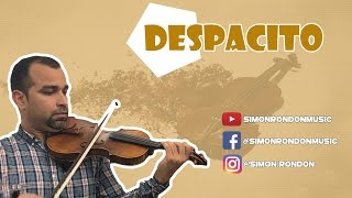 COVER DESPACITO EN VIOLIN - SIMON RONDON