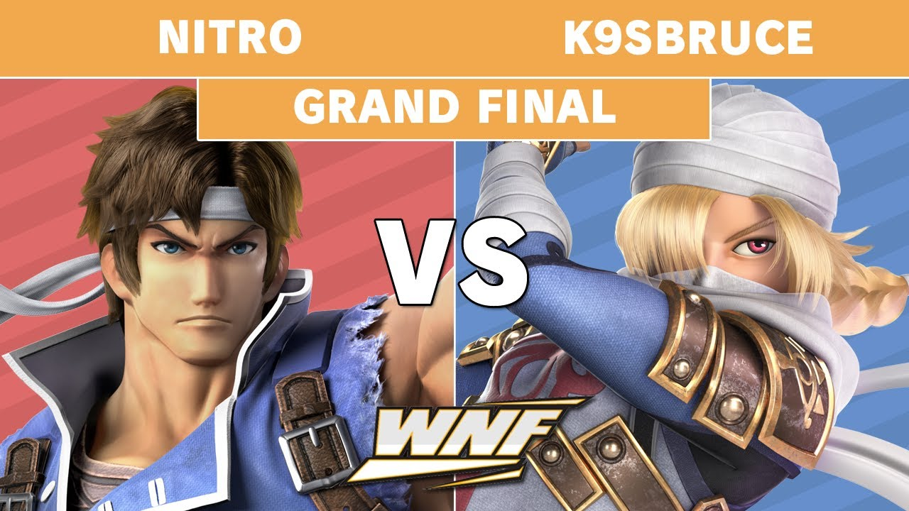 Download WNF 2.7 Nitro (Richter Belmont) vs K9sbruce (Sheik, Wolf) - Grand Final - Smash Ultimate