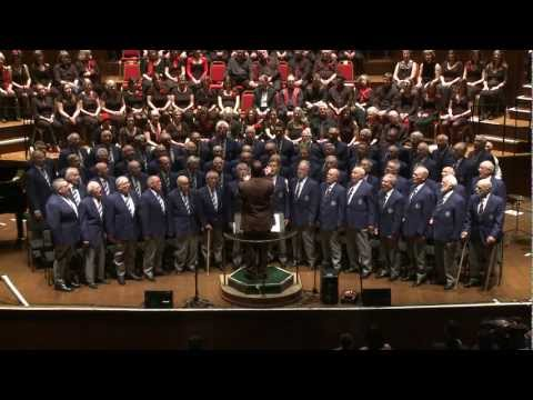 My Luve is Like a Red Red Rose. Bristol Male Voice Choir, Gurt Winter Concert 2012, The Colston Hall