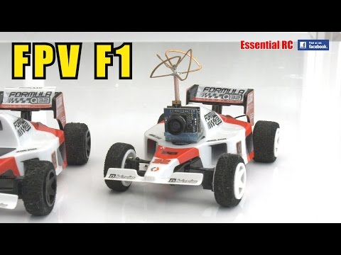 *FPV* F1 Formula 1 HPI Q32 RC RACING CARS: ESSENTIAL RC DRIVE TEST
