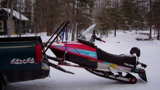 Snowmobile Lift System The Very Simple Homemade Way