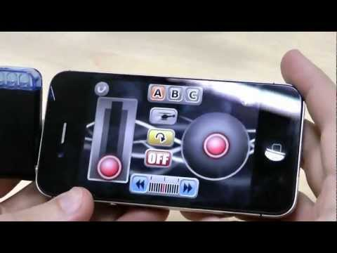 IPhone Controlled 3-CH R/C I-Helicopter - DealExtreme