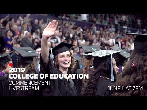 🔴 2019 College Of Education Graduation Livestream