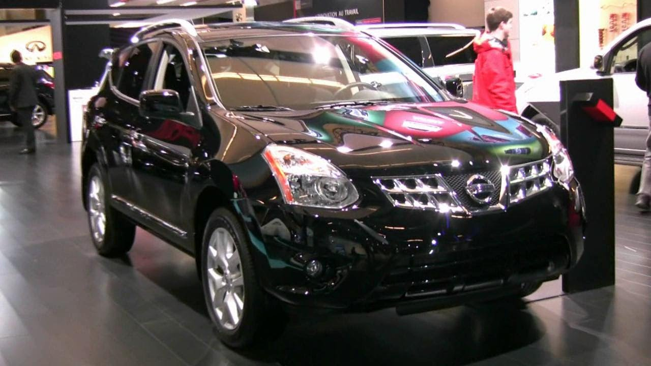 2012 Nissan Rogue Sv Exterior And Interior At 2012