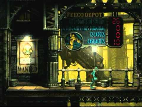 Oddworld: Abe's Exoddus - Funny Situations With Maaaaany Mudokons