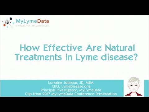 What alternative Lyme disease treatments work? What are their side