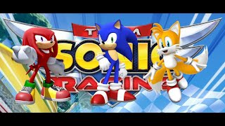 Knuckles, Sonic and Tails play Team Sonic Racing!