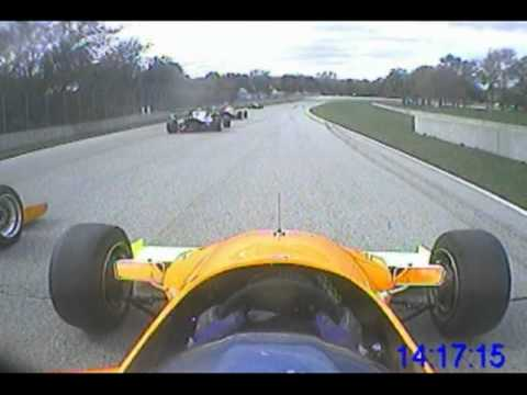 Mike Anderson Formula Mazda In Car From The 2010 SCCA Run Offs
