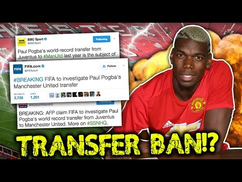 BREAKING: FIFA To BAN Manchester United After Paul Pogba Transfer Scandal?! | Transfer Talk