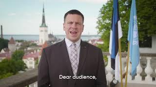 Peaminister Jüri Ratase sõnavõtt ÜRO kõrgetasemelisel poliitilisel foorumil|ValitsuseUudised