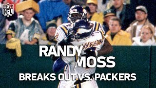 Rookie Randy Moss Shreds the Packers' Defense & Puts the NFL on Notice | NFL Highlights