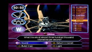 Retro Gaming: Who Wants To Be A Millionaire 2nd Edition (PS1)