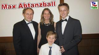 Max' Abtanzball Tanzschule mit der ganzen Familie | Vlog TipTapTube