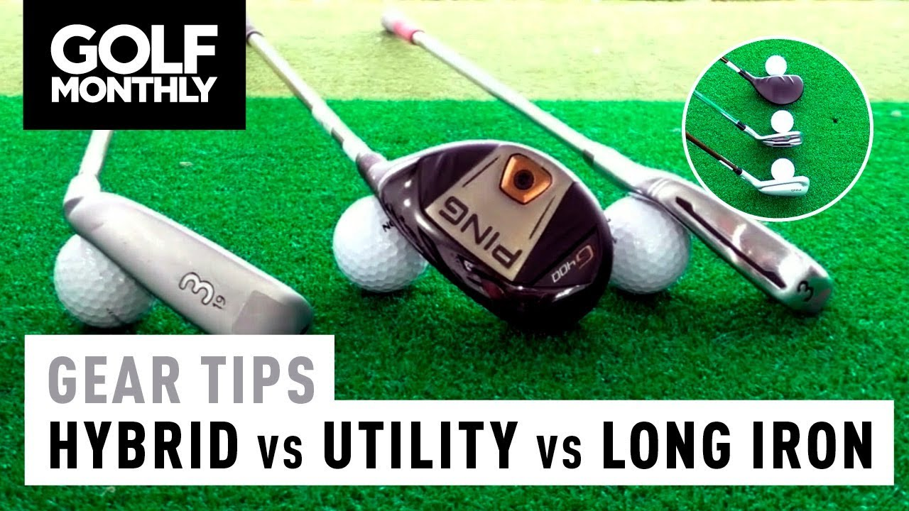 Hybrid Vs Utility Iron Long Which Is Right For You Golf Monthly