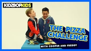 The Pizza Challenge with Cooper & Freddy from The KIDZ BOP Kids