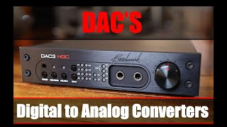 Digital to Analog Converters DACs