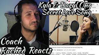 Live Vocal Coach Reaction & Analysis - Kyla & Daryl Ong - Secret Love Song - Reading Comments