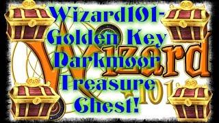 Wizard101- Golden Skeleton Key Darkmoor Treasure Chest! (PATCHED)