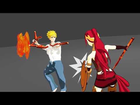 Pyrrha Nikos vs Sun Wukong