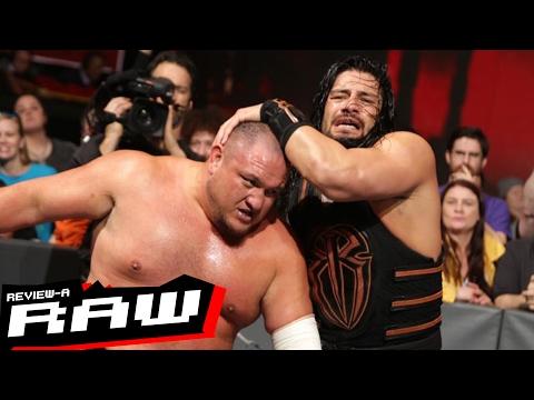 Samoa Joe vs. Roman Reigns, Goldberg Challenges Owens | WWE Raw 2/6/17 Review