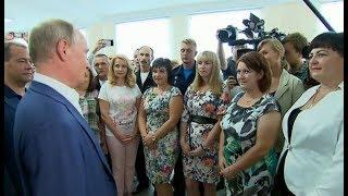 Крым Севастополь. Визит Путина 18.08.2017