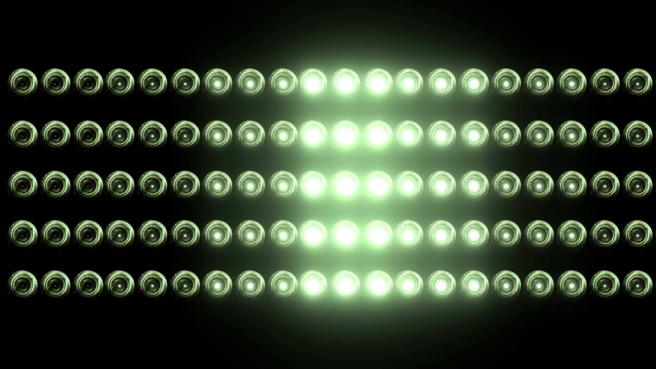 Flashing light wall with bulbs free hd vfx footage youtube aloadofball Image collections