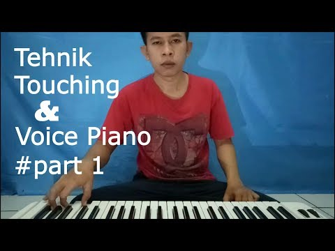 Tutorial Keyboard Tehnik Touching dan Voice Piano ~ Part 1