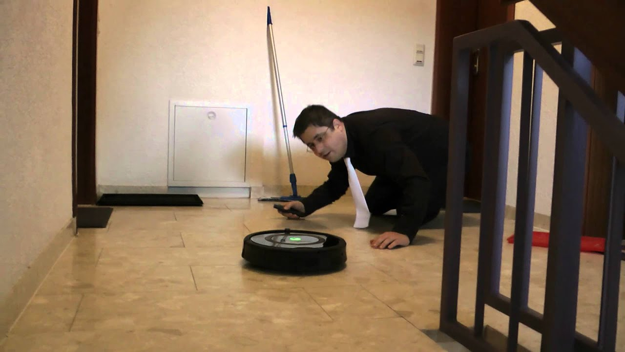 irobot roomba konkurrenz f r den staubsauger vertreter youtube. Black Bedroom Furniture Sets. Home Design Ideas