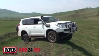 Land Cruiser Prado 150  ARB air locker off road test (part 1) ARB24