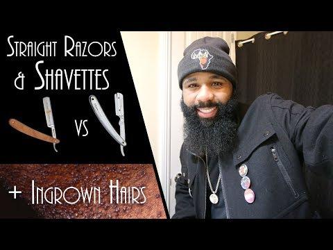 Ingrown Hairs | Straight Razor vs Shavette [Razorette] | Q&A