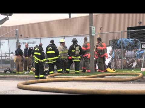 Paper Recovery & Recycling Warehouse Fire Bensenville