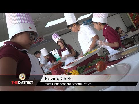 """Ysleta Elementary School students """"Roving Chefs"""" learn fundamentals of healthy cooking"""