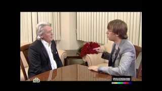Максим Галкин в интервью с Аленом Делоном