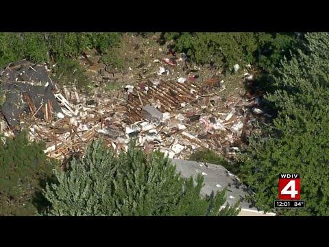House explodes in Harper Woods