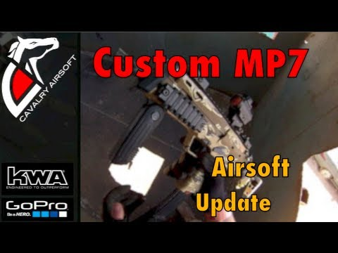Custom Painted KWA MP7/ SCAR (Airsoft Update)