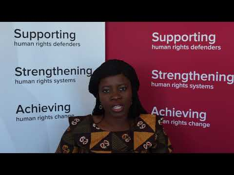 Human rights defender progile: Adaobi Egboka