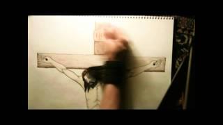 Crucifiction of Jesus Christ Art Concept HD