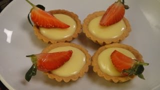 Lemon Strawberry Tart With Chef Anil Rohira