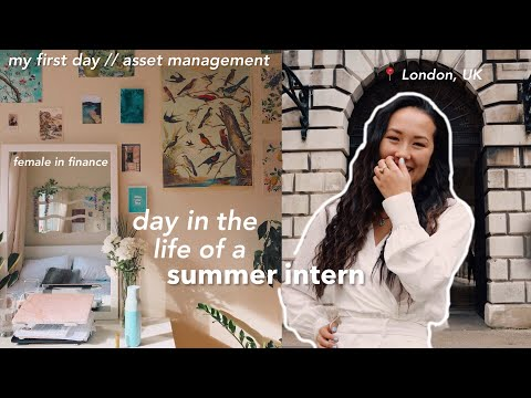 💰 day in the life of a business summer intern || female in finance vlog 👩🏻💼