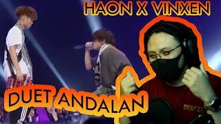 REACTION SOTOY | KIM HAON & VINXEN - BARCODE -  김하온&이병재 - 바코드(Prod.GroovyRoom) | ID 🇮🇩