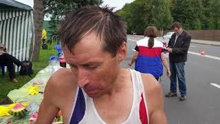 Алексей Измайлов (47 лет) пятикратный чемпион России бег 100 км,  участник 39 забегов на 100 км