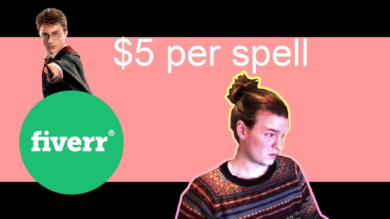 Buying spells on fiverr