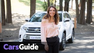 Toyota Kluger Grande AWD 2017 review: family test
