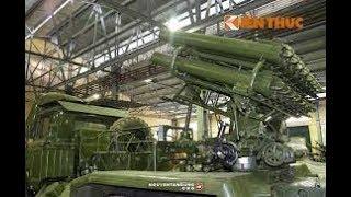 Trung Quốc hốt hoảng Việt Nam có Kho pháo phản lực Khủng nhất trong khu vực