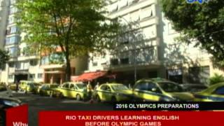 Rio taxi drivers learning English before Olympic Games
