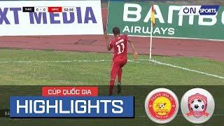 Highlights: Chiến thắng đầy kịch tính của Hải Phòng ngay trên sân Thanh Hóa