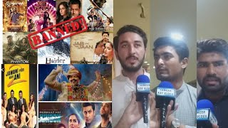 Pakistani Public Reaction on Indian Movies Ban in Pakistan | Discussion on Pakistani Film Industry