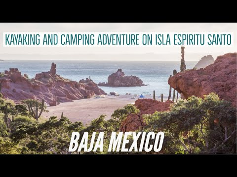 Isla Espiritu Santo Camping