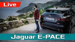 Испания, Майорка и Jaguar E-Pace! Обзор, тест-драйв и первые впечатления #proAutoTV
